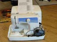 Brothers LS 2125 sewing machine used once or twice