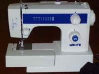 White Sewing Machine. It's an older machine but wasn't