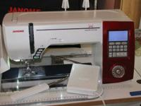 For sale is my Janome 7700 stitching device. Purchased