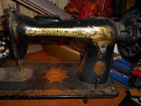 Great 1941 Singer sewing machine. Looks like it used to