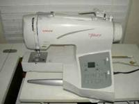 Singer Futura CE-200 Embroidery Sewing Machine,