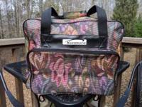 This is a new Kenmore sewing machine tote bag that