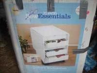 BRAND NEW IN BOX-- needs assembly White Quilting