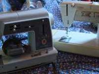 2 Singer Sewing Machines Touch & Sew $250.00.