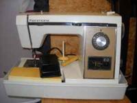 Sears Kenmore sewing Machine, works but thread sometime