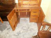 Sewing machine cabinet. Sewing machine not included