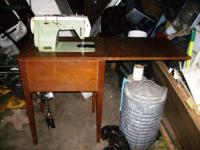 Precision Built (Japan) Sewing Machine $50 Folds up
