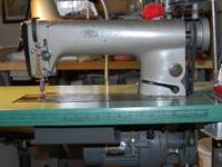 Up for sale is a Industrial Pfaff sewing machine