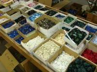 We have tons of sewing notion, supplies. Buttons,