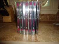 Complete series of Sex and The City DVDs. Seasons 1-6.