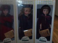 I have 5 Seymour Mann Porcelain dolls for sale. All in