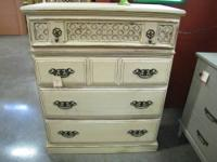 Stylish shabby chest of drawers ready for any room. Ver