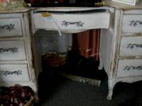 Antique Shabby Chic Desk. All Original Handles.  IN