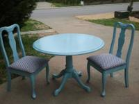 Round Table and 2 Chair Set I LOVE this one!!! It is so