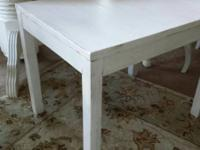 Shabby Chic End Table 4. $25. Call (