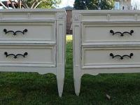SHABBY CHIC/FRENCH PROVINCIAL,NIGHT STANDS VINTAGE