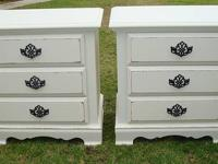 Eco finished .SHABBY CHIC/FRENCH PROVINCIAL,2 SIDE