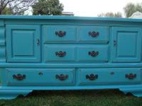 SHABBY CHIC/FRENCH PROVINCIAL,12 DRAWERS,DRESSER