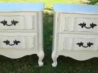 SHABBY CHIC/FRENCH PROVINCIAL STYLE NIGHT STAND/SIDE