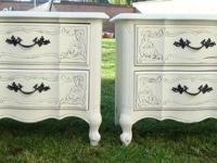 SHABBY CHIC/FRENCH PROVINCIAL,NIGHT STANDS COTTAGE