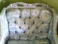 Awesome solid wood chair with beautiful wood work