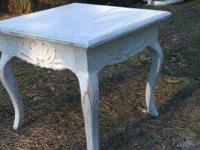 Shabby Chic Short Endtable $25 Call (