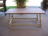 "Small Coffee Table $40.00 Measurements are 38""long, 19"""