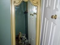 I am selling my cute shabby chic wall mirror. We are