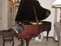 Beautiful Baby Grand Piano! Very few made like this!!