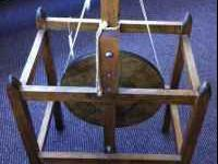 We have used Shaker Style spinning wheels to sell. $200