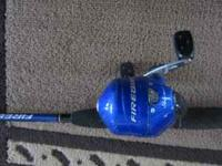 THIS IS A USED BUT In VERY GOOD CONDITION ROD AND REEL