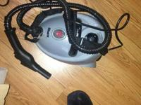 This is a powerful steam cleaner with multiple