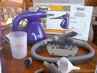 I am selling my Shark steamer cleaner. It is a