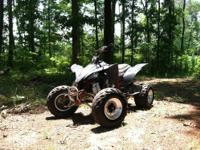 I have a sharp 2008 YFZ 450 for sale or trade. It is a