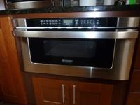 """sharp kb-6525ps 30"""" microwave. remodel and don't have"""