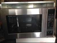 Practically new microwave, worth well over