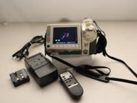 This great Sharp 8mm camcorder is in excellent cosmetic