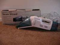 We have a Sharper Image Steam Wizard for sale. Great