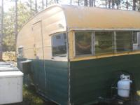 1960,s shasta camper, no title. Would make a great