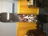 I have for sale or trade a brand new never used Burton