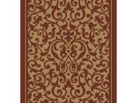 The shaw christine red 12 ft. x 9 ft. 2 in. Area Rug is
