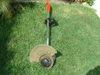 SHEAR KING (model 5503) Electric GRASS EDGER It cuts a