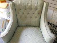 I have a Sherman Brother Chair with light brocade