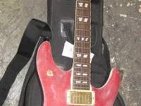 I HAVE A USED SHECTER ELECTRIC GUITAR HOLLOW BODY