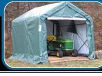 WE HAVE A 8 X 8 X 8 GREEN MDM SHED FIRE RATED CPAI-84