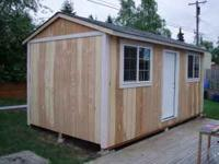sheds, cabins, garages, green houses, job shacks, guard