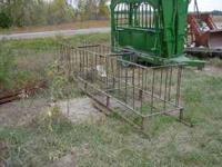 Sheep Hay Feeder on skids. Good Condition. $125 Cash.