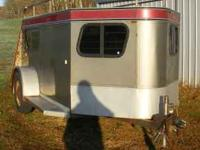 1994 TRUE TRAIL CUSTOM MADE SHOW TRAILER. LENGHT IS 11'
