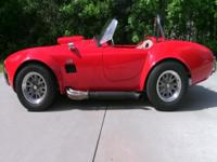 This is the REAL DEAL Cobra replica. A real head turner