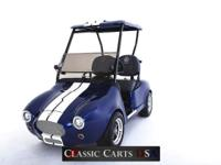 The SHELBY COBRA takes the Golf Cart to a Whole New